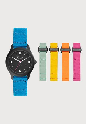 EARTH DAY WATCH SET - Montre - blue