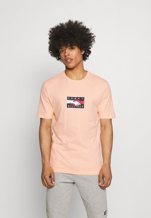 ONE PLANET TEE UNISEX - T-shirt con stampa - delicate peach