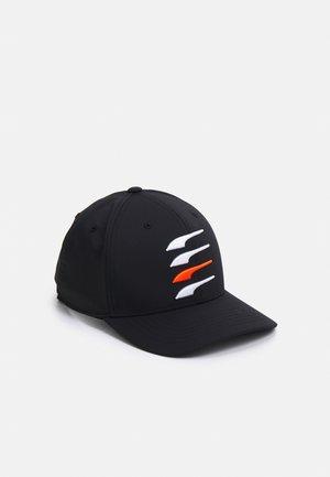 MOVING DAY X SNAPBACK  - Kšiltovka - black/bright white/vibrant orange