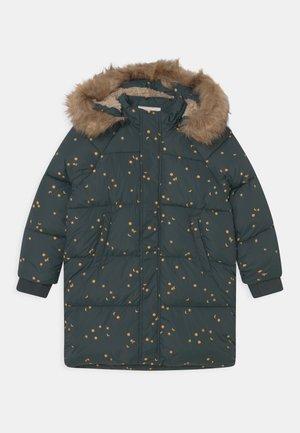 UNISEX - Winter coat - ink blue/honey
