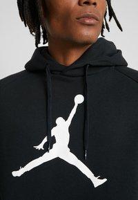 Jordan - JUMPMAN LOGO - Hoodie - black/white - 4