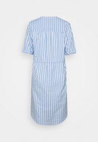 Selected Femme - SLFPERA ZENIA DRESS - Day dress - snow white/blue - 1