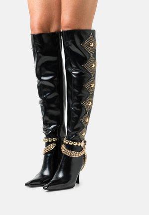 VIXXEN - Boots med høye hæler - black