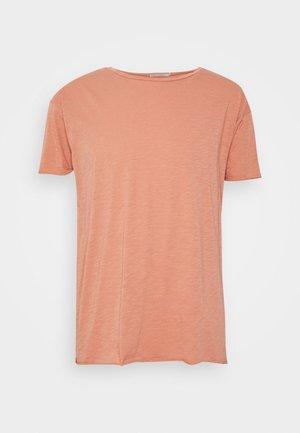 ROGER - Basic T-shirt - apricot