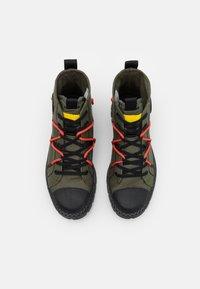 Palladium - PALLASHOCK RE-CRAFT UNISEX - Lace-up ankle boots - olive night - 3