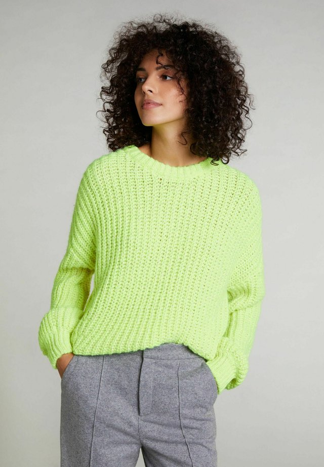 Pullover - safety yellow