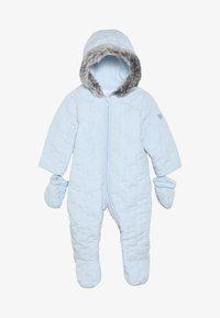 mothercare - BABY QUILTED SNOWSUIT - Snowsuit - blue - 2