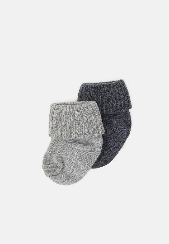 BABY SOCKS 2 PACK UNISEX - Calze - grey melange