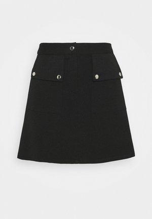 VMSIGRID SKIRT  - A-line skirt - black
