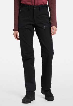 BRECCIA PANT  - Outdoor trousers - true black/magnetite