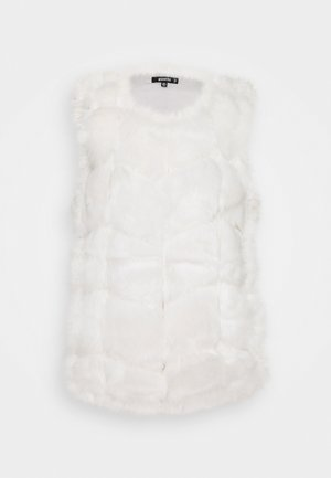 BUBBLE GILET - Waistcoat - white