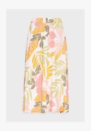 GABY SKIRT - A-line skirt - birch botanic outline