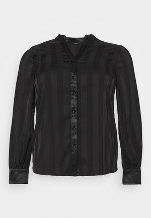 VMTINKA - Button-down blouse - black