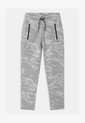 BOY FIT TECH - Tracksuit bottoms - ivory