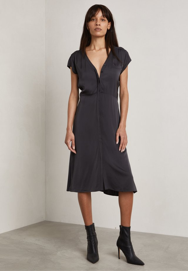 DAMON - Korte jurk - charcoal