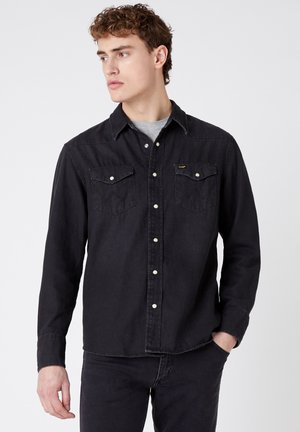 27MW - Camicia - black washed