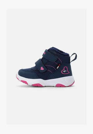 Winter boots - dark navy/daisy pink