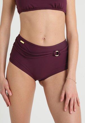 HOTPANTS RING - Bikini bottoms - bordeaux