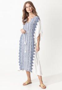 Indiska - KAFTAN LINDA - Day dress - blue - 1