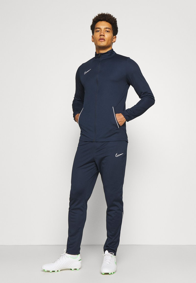 Nike Performance - DRY ACADEMY SUIT SET - Tuta - obsidian/white
