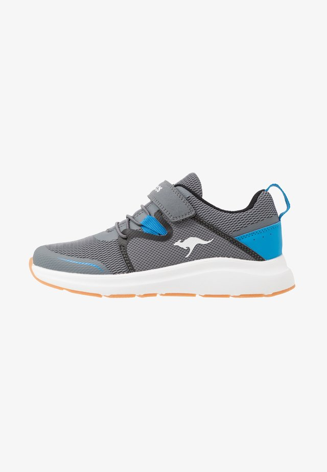 KB-RACE - Sneakers - steel grey/brillant blue