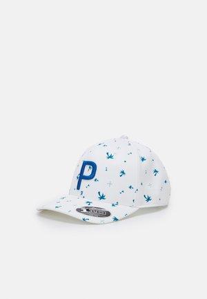 PALMS PATTERN SNAPBACK - Cap - digi blue/bright white