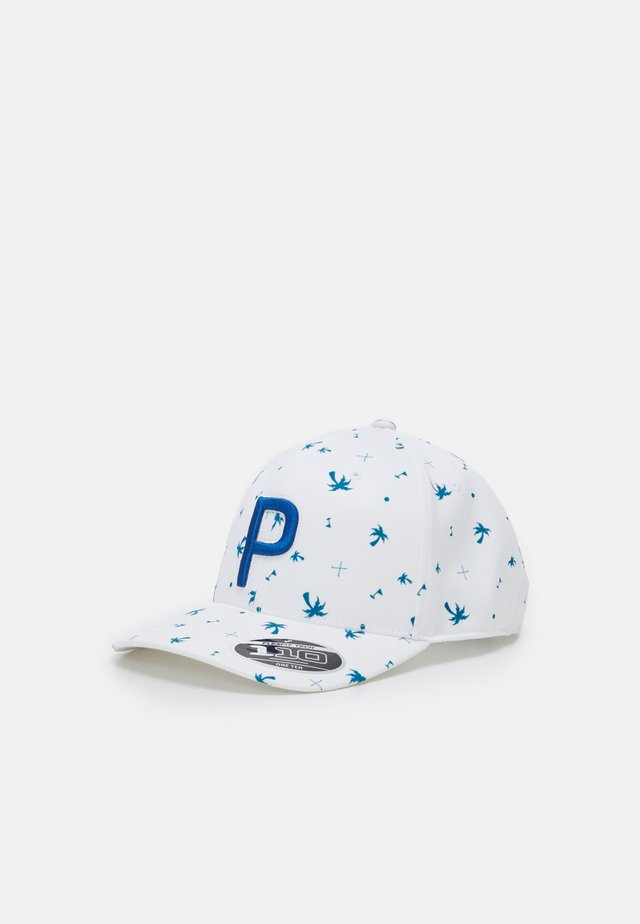 PALMS PATTERN SNAPBACK - Casquette - digi blue/bright white