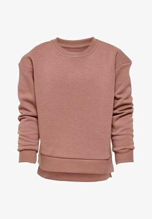 Sweatshirt - burlwood