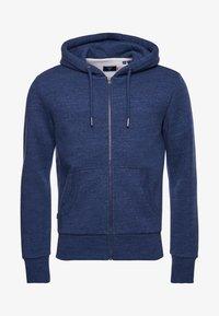 Superdry - LABEL CLASSIC - Zip-up sweatshirt - dark blue - 2