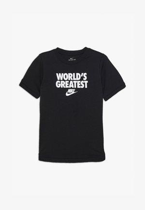TEE WORLDS GREATEST - T-shirt print - black
