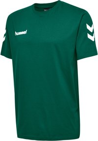 Hummel - HMLGO - Print T-shirt - evergreen - 2