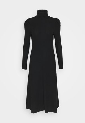 ONLNELLA ROLL NECK DRESS  - Vestido de punto - black