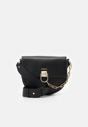 MISS MIMI MINI CROSSBODY - Across body bag - nero