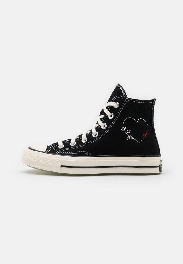 CHUCK 70 UNISEX - High-top trainers - black/egret/black