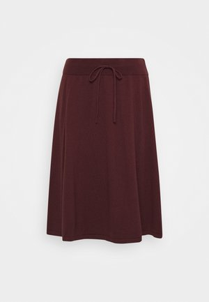 BELLA SKIRT - A-line skirt - decadent chocolate