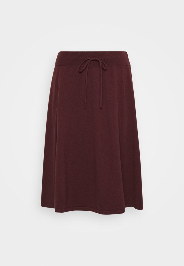 BELLA SKIRT - A-Linien-Rock - decadent chocolate