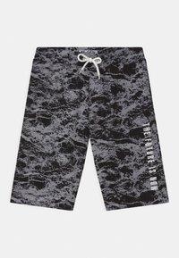 Re-Gen - TEEN BOYS  - Shorts - black/white - 0