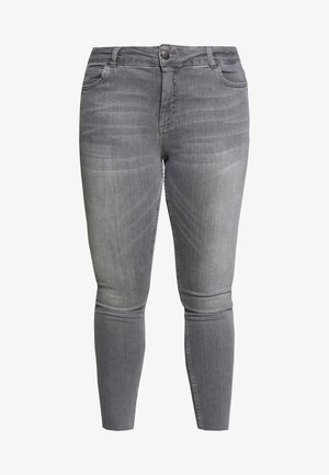 JPOSH AMY - Jeans Skinny Fit - grey denim