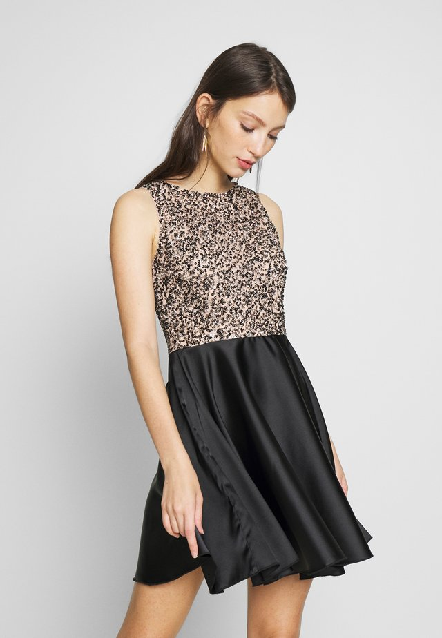 RADOMIRA SKATER - Cocktail dress / Party dress - nude/black