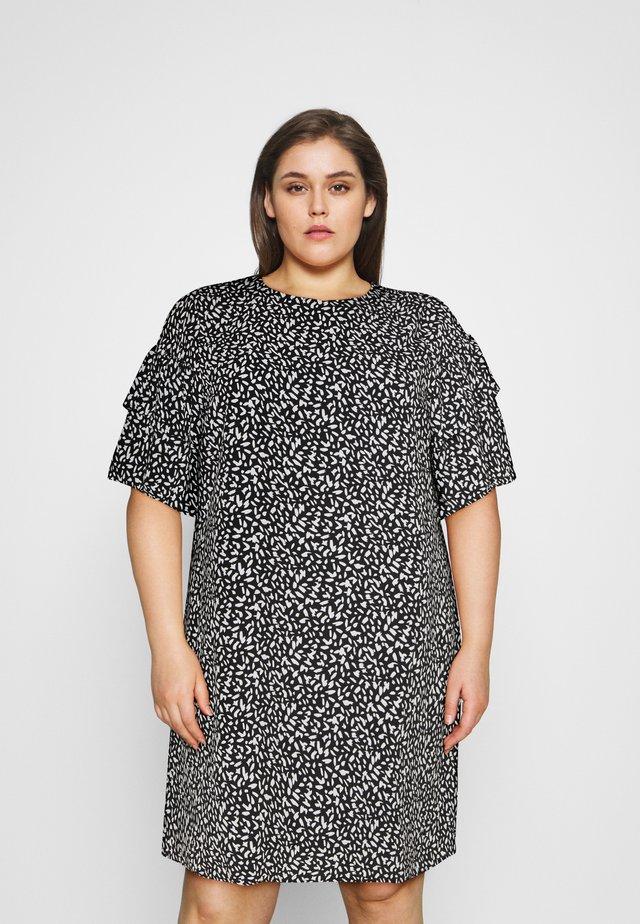 SLFCARL DRESS - Denní šaty - black