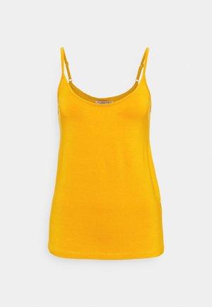 Top - dark yellow