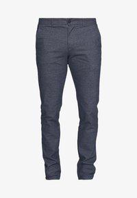 SLHSLIM ARVAL PANTS - Trousers - dark sapphire