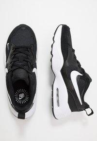 Nike Sportswear - AIR MAX FUSION UNISEX - Sneakers basse - black/white - 0