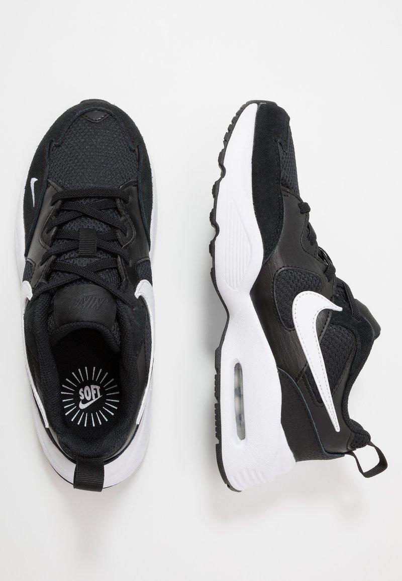 Nike Sportswear - AIR MAX FUSION UNISEX - Sneakers basse - black/white