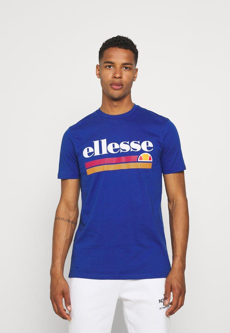 Ellesse - TRISCIA TEE - T-shirt z nadrukiem - blue