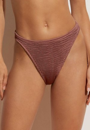 CRINKLED  - Bikini bottoms - brown