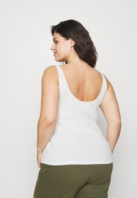 Selected Femme Curve - SLFNANNA TANK - Top - snow white - 2