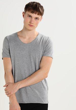 SHNNEWMERCE - T-shirts - light grey melange