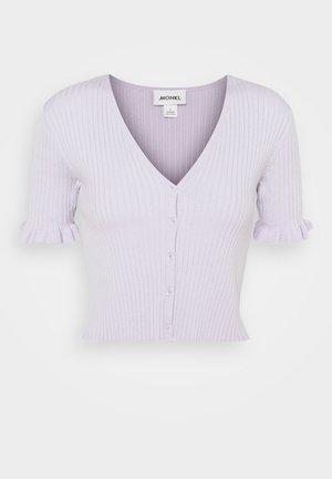 SALMA - Chaqueta de punto - lilac