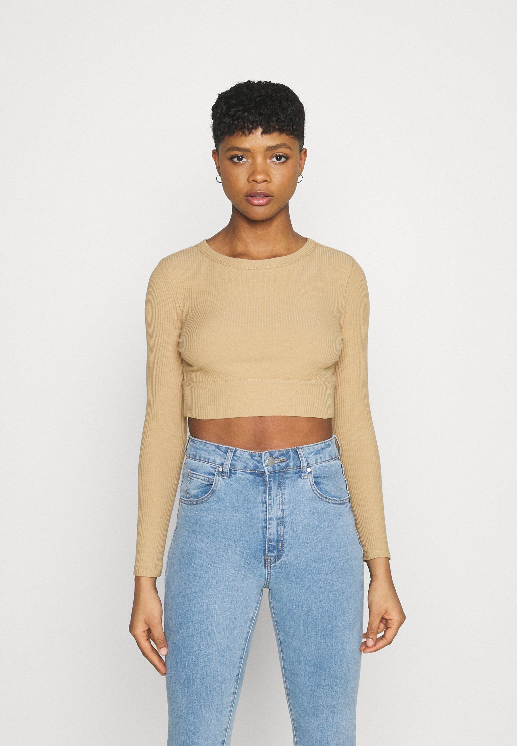 Women GEORGIE CREW - Long sleeved top
